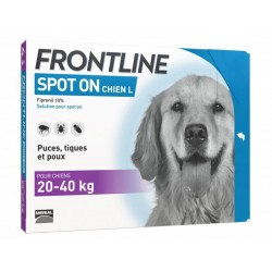 FRONTLINE Grand Chien 20-40 kg Spot-on 6 pipettes