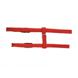 HARNAIS CHAT H10MM 40CM ROUGE