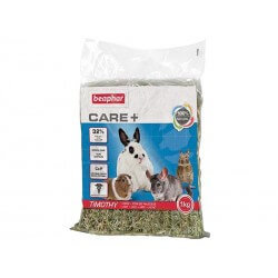 Foin Rongeurs CARE+ TIMOTHY HAY Sac 1 kg