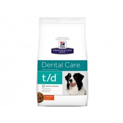 Prescription Diet Chien T/D DENTAL CARE Sac 10 kg