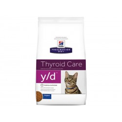 Prescription Diet Chat Y/D THYROID CARE Sac 1.5 kg