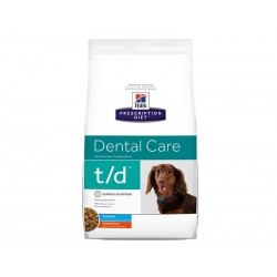 Prescription Diet Chien T/D MINI DENTAL CARE Sac 3 kg