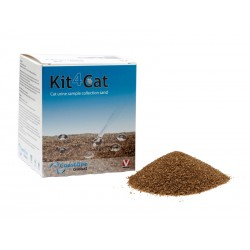 Litière Chat SABLE KIT 4 CAT Sachets 3 X 300 g