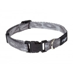 Collier Chien ALPINIST GRIS 16 mm - 28/40 cm