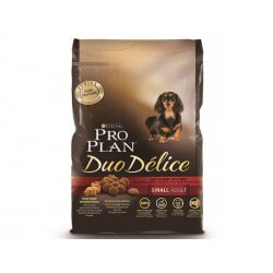 Purina Proplan Chien DUO DELICE PETIT ADULT BOEUF Sac 2.5 kg