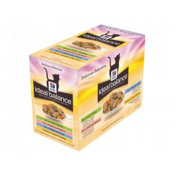 Ideal Balance Chat ADULT PACK MIXTE Sachets 12 X 85 g