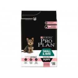Purina Proplan Chien OPTIDERMA SMALL & MINI PUPPY SAUMON Sac 3 kg