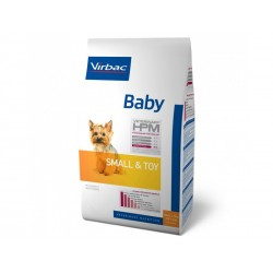 Veterinary HPM Chien BABY SMALL & TOY Sac 3 kg
