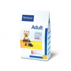 Veterinary HPM Chien ADULT SMALL & TOY Sac 3 kg