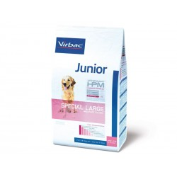 Veterinary HPM Chien JUNIOR SPECIAL LARGE Sac 12 kg