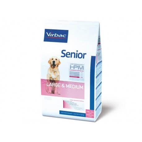 Veterinary HPM Chien SENIOR LARGE & MEDIUM Sac 12 kg