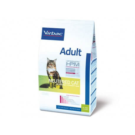 Veterinary HPM Chat ADULT NEUTERED Sac 3 kg