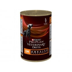 Proplan Veterinary Diets Canine OM OBESITY MANAGEMENT Boîtes 12 X 400 g