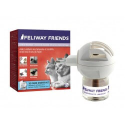 Diffuseur et recharge Chats FELIWAY FRIENDS Flacon 48 ml