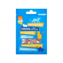 Friandise Chat KITTY DELISHY POULET/POISSON 30 g X 10