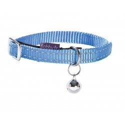 Collier Chat SAFE BLEU 10 mm - 17/26 cm