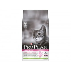 Purina Proplan Chat DELICATE AGNEAU Sac 10 kg