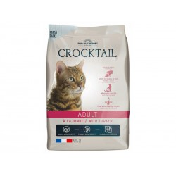 Croq Crocktail Chat ADULT DINDE Sac 10 kg