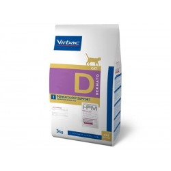 Veterinary HPM Chat DERMATOLOGY Sac 3 kg