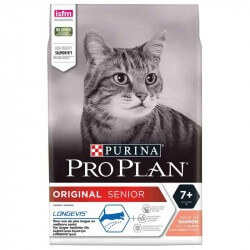 Purina Proplan Chat ORIGINAL SENIOR 7+ SAUMON Sac 3 kg