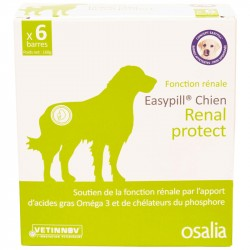 Aliment complémentaire Chien EASYPILL RENAL PROTECT 6 Barres