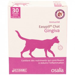 Aliment complémentaire Chat EASYPILL GINGIVA Boîte 30 boulettes