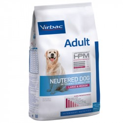 Veterinary HPM Chien ADULT NEUTERED LARGE & MEDIUM Sac 16 kg