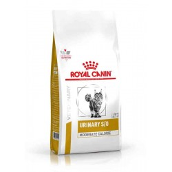 Veterinary Diet Chat URINARY S/O MODERATE CALORIE Sac 7 kg