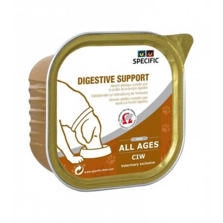 Specific Chien CIW DIGESTIVE SUPPORT Barquettes 6 X 300 g