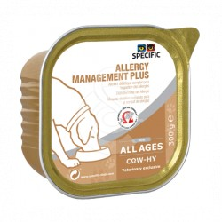 Specific Chien COW-HY ALLERGY MANAGEMENT PLUS Barquettes 6 X 300 g