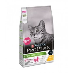 Proplan Purina Chat STERILISED ADULT OPTIDIGEST POULET Sac 3 kg