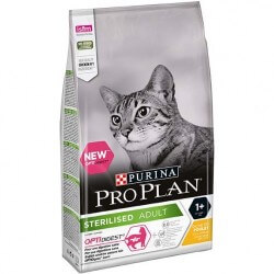 Proplan Purina Chat STERILISED ADULT OPTIDIGEST POULET Sac 400 g