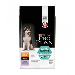 Purina Proplan Chien OPTIDIGEST ADULT LARGE & MEDIUM GRAIN FREE Sac 2,5 kg