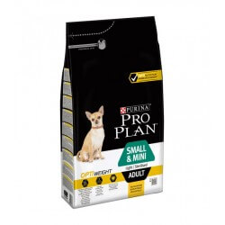 Purina Proplan Chien SMALL&MINI ADULT LIGHT STERILISED POULET Sac 3 kg