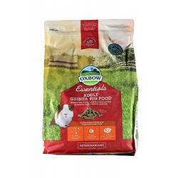 Aliment OXBOW ESSENTIALS ADULT Cochon d'Inde Sac 4.5 kg