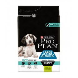 Purina Proplan Chien OPTIDIGEST LARGE ATHLETIC PUPPY AGNEAU 12 kg