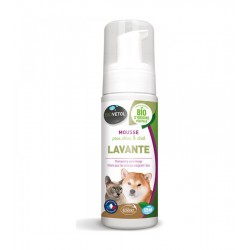Mousse Chien Chat BIOVETOL LAVANTE BIO Flacon 125 ml