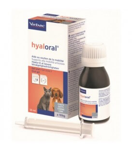 Aliment complémentaire Chien Chat HYALORAL Flacon 50 ml