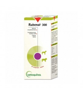 "RUBENAL ""NF"" Chien 300 mg Etui 60 comprimes"