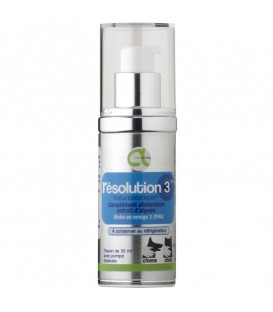 Complément alimentaire Chien Chat RESOLUTION 3 Flacon 30 ml