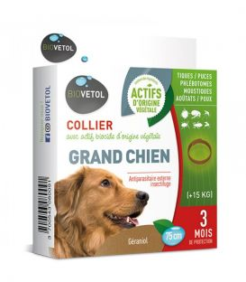 Collier Grand Chien BIOVETOL ANTIPARASITAIRE