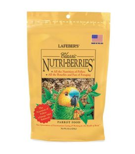 NUTRI-BERRIES TROPICAL PERROQUETS 1,36KG