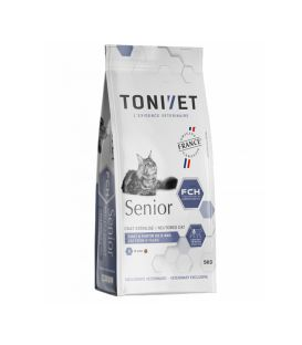TONIVET CHAT SENIOR SAC 5 KG