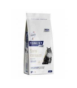 TONIVET CHAT SANS CEREALES SAC 5 KG