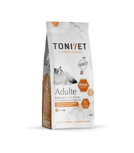TONIVET CHAT ADULTE POULET SAC 1,5 KG