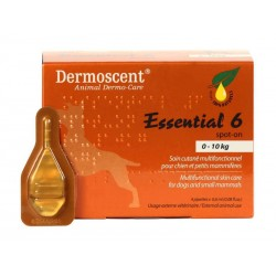 DERMOSCENT ESSENTIAL 6 CHIEN 1-10KG 4 PIP.