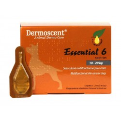 DERMOSCENT ESSENTIAL 6 CHIEN 10-20KG 4 PIP.
