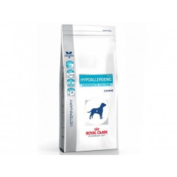Veterinary Diet Chien HYPOALLERGENIC MODERATE CALORIE Sac 14 kg