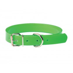 COLLIER CHASSE VERT FLUO 25 MM X 55CM
