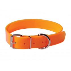 COLLIER CHASSE ORANGE FLUO 25MMX55CM